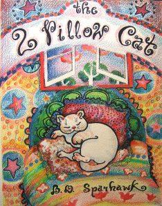 The 2 Pillow Cat.