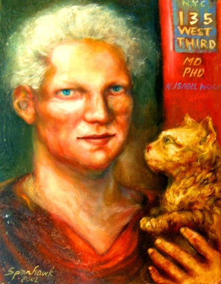 Dr Isabel Wright and Her Blind Cat, Ripple