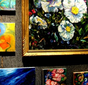 Mahalia Poppies, Gallery Wall Carmel Valley