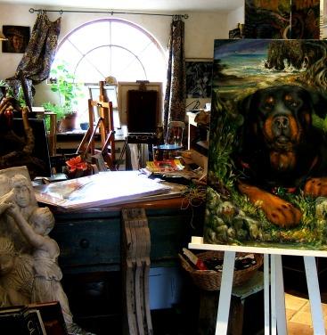 Inside Carmel Valley Gallery