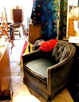 Carmel Valley Gallery chair, The Hawks Perch