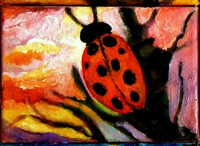 Little Ladybug Sunset Watch