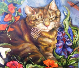 Cat Who Loved Flowers, best, detail, TJ, gallery