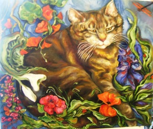Cat Who Loved Flowers, best, full, TJ