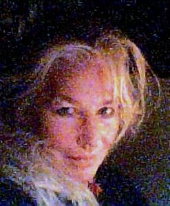 candle lit shoulder hair