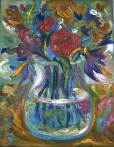 Kitchen Table Bouquet, pale
