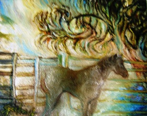Silver Horse of Silver Dawn