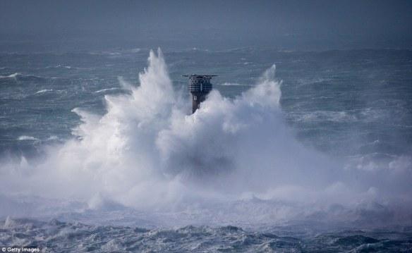 6.Longships Lighthouse off Cornish coast